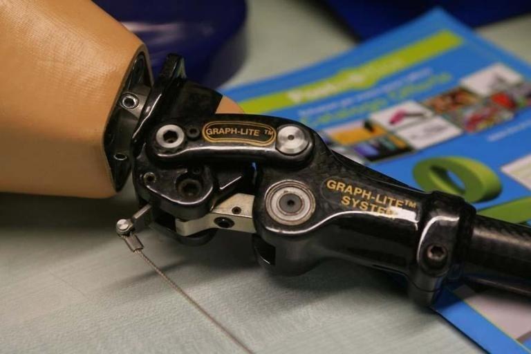 Dettaglio protesi