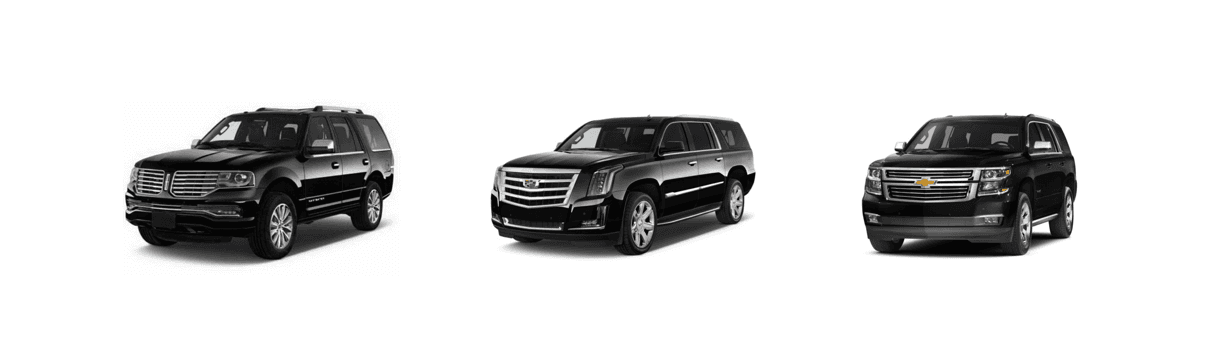 SUV chauffeur limo service los angeles