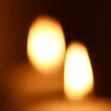 luci sfuocate