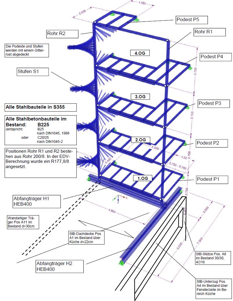 beste von treppe mit podest berechnen haus design ideen. Black Bedroom Furniture Sets. Home Design Ideas