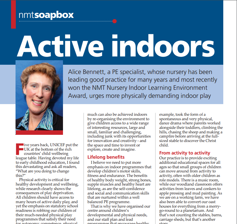 Article on indoors