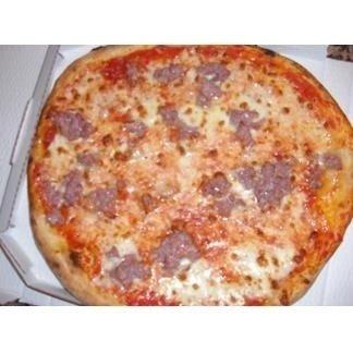 Pizza salsiccia e panna