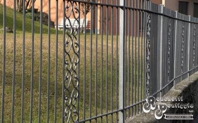 Palizzata di ferro per giardino