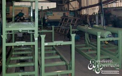 Strutture di ferro per magazzini