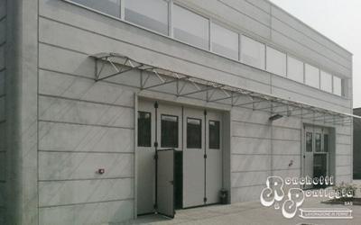Doppie porte di metallo per magazzini