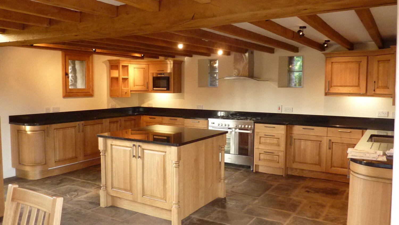 clasic kitchen interior