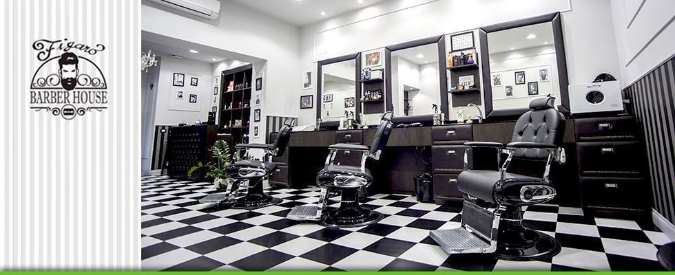 salone di parrucchieri e barbieri esperti in taglio per uomini