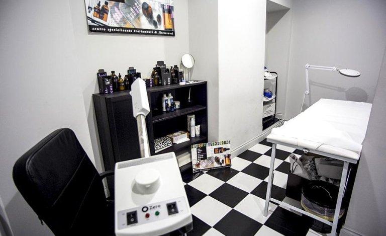 Sala per la colorazione di capelli