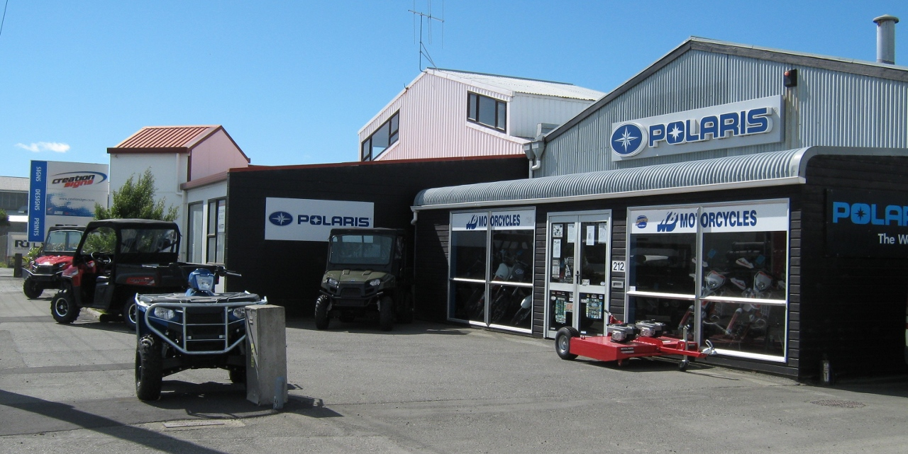 Range of motorbikes in Southland with our motorcycle accessories fitted