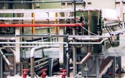 impianto grigliato zincato