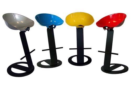 Design stools and tables in Reggio Emilia