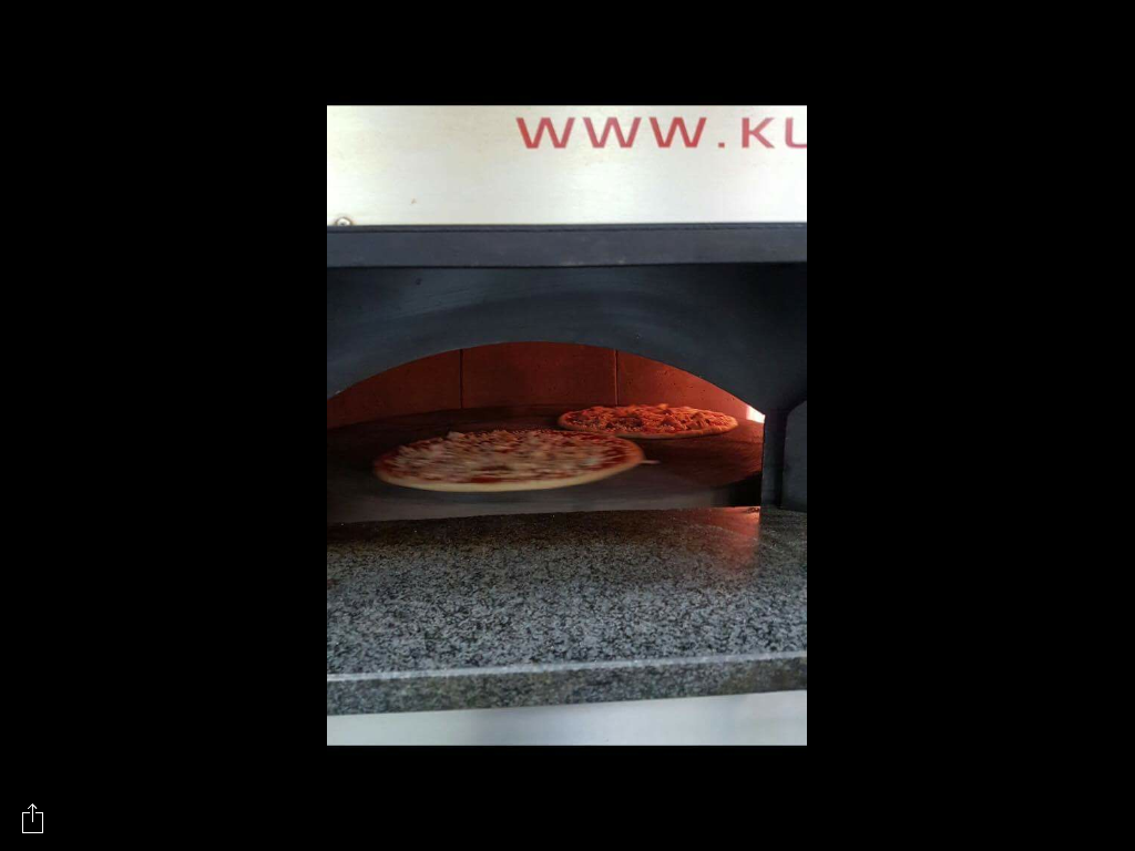 pizza cotta nel forno
