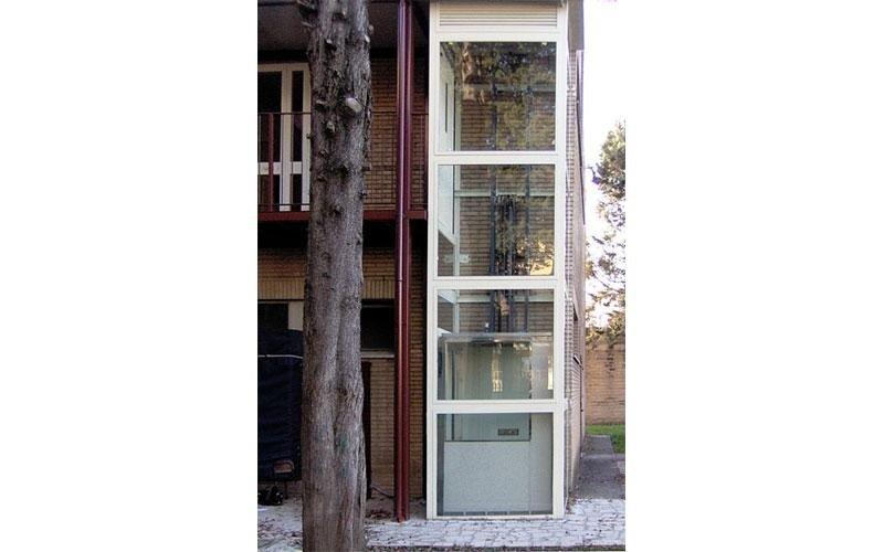 ascensore da esterno