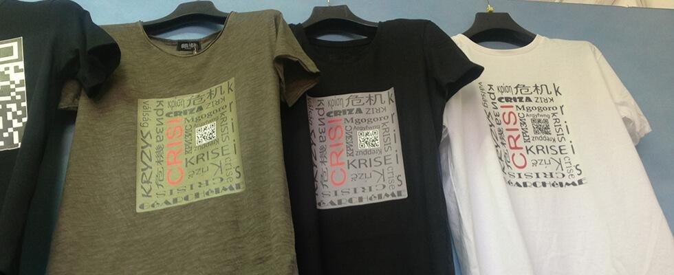 stampa su magliette arezzo