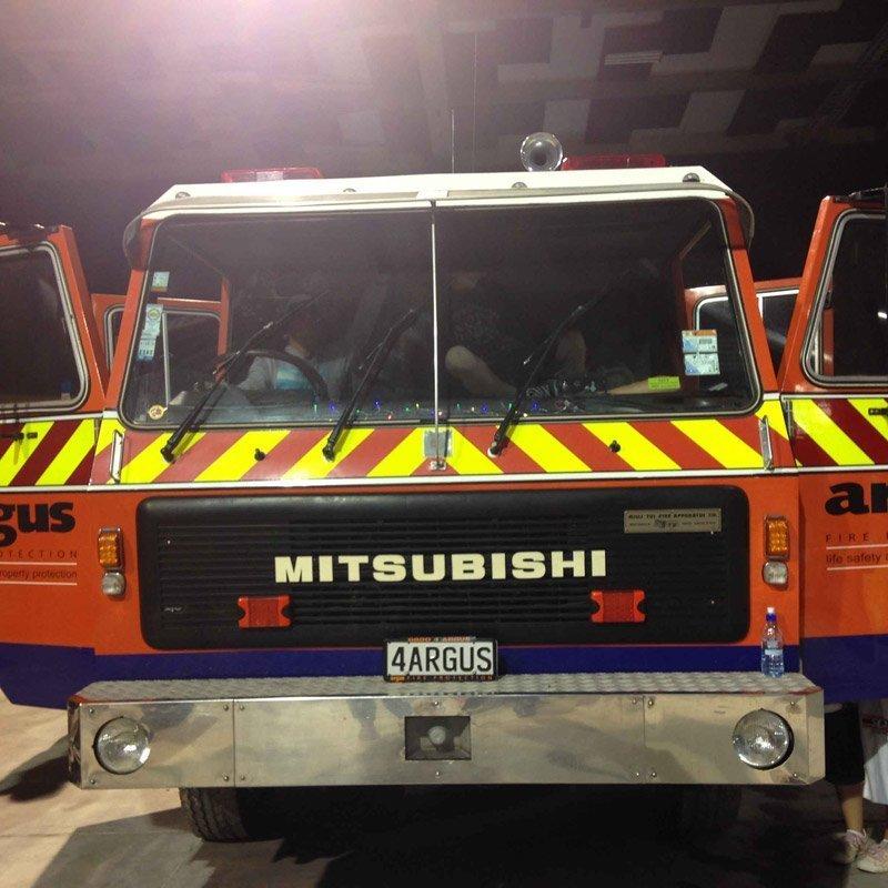 Mitsubishi vehicle parking
