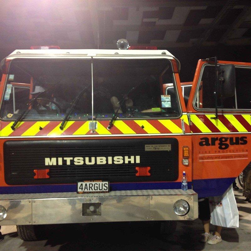 Mitsubishi vehicle