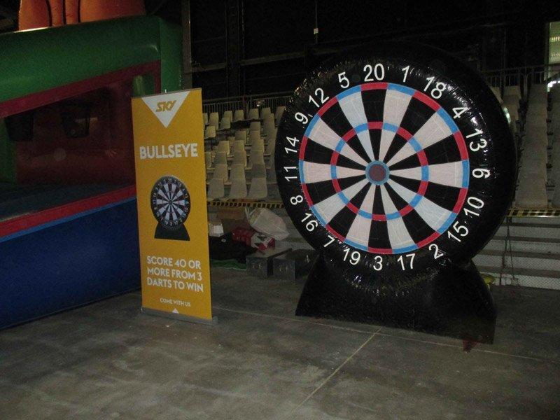 Bullseye game