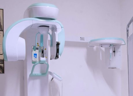 ecografia che rappresentauna  Radiologia Dentaria Digitale