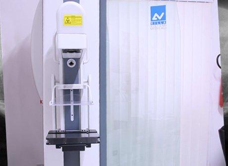 macchinario per mammografie digitali