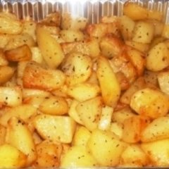 patate al forno, prodotti da forno, pizzeria