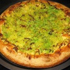 mozzarella, patate, zucchine a fette