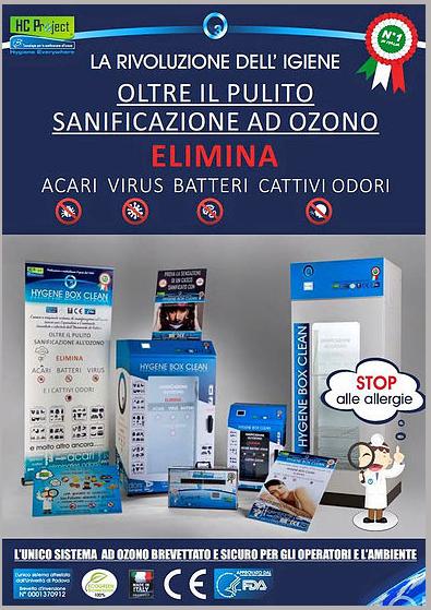 sanificazione ad ozono lavanderia centemero
