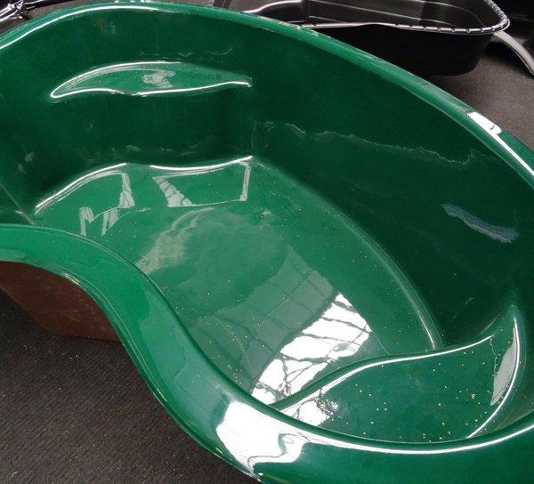 We make custom fibreglass ponds in lancashire for Koi pool lancashire