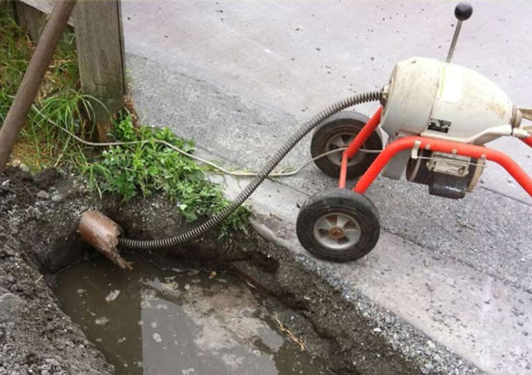 unblock drains quickly using the very latest technology