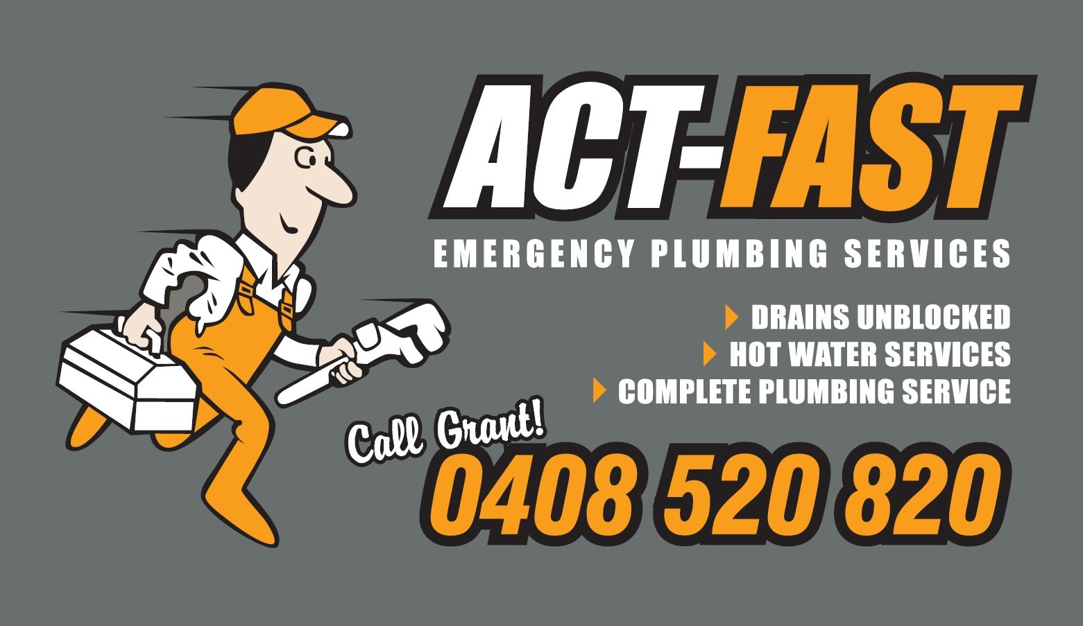 act-fast-emergency-plumbing-services-logo