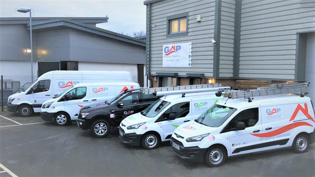 Gap Property Services Leicester Ltd cars and vans