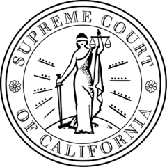 supreme court of california seal