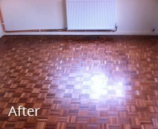 tiled floor restored