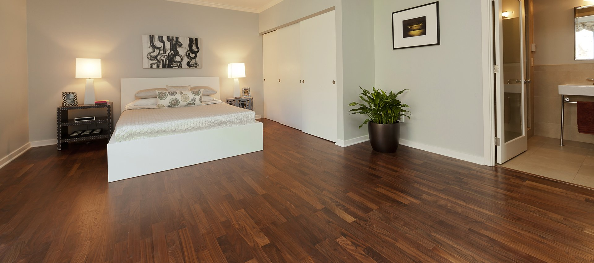 dark wooden flooring