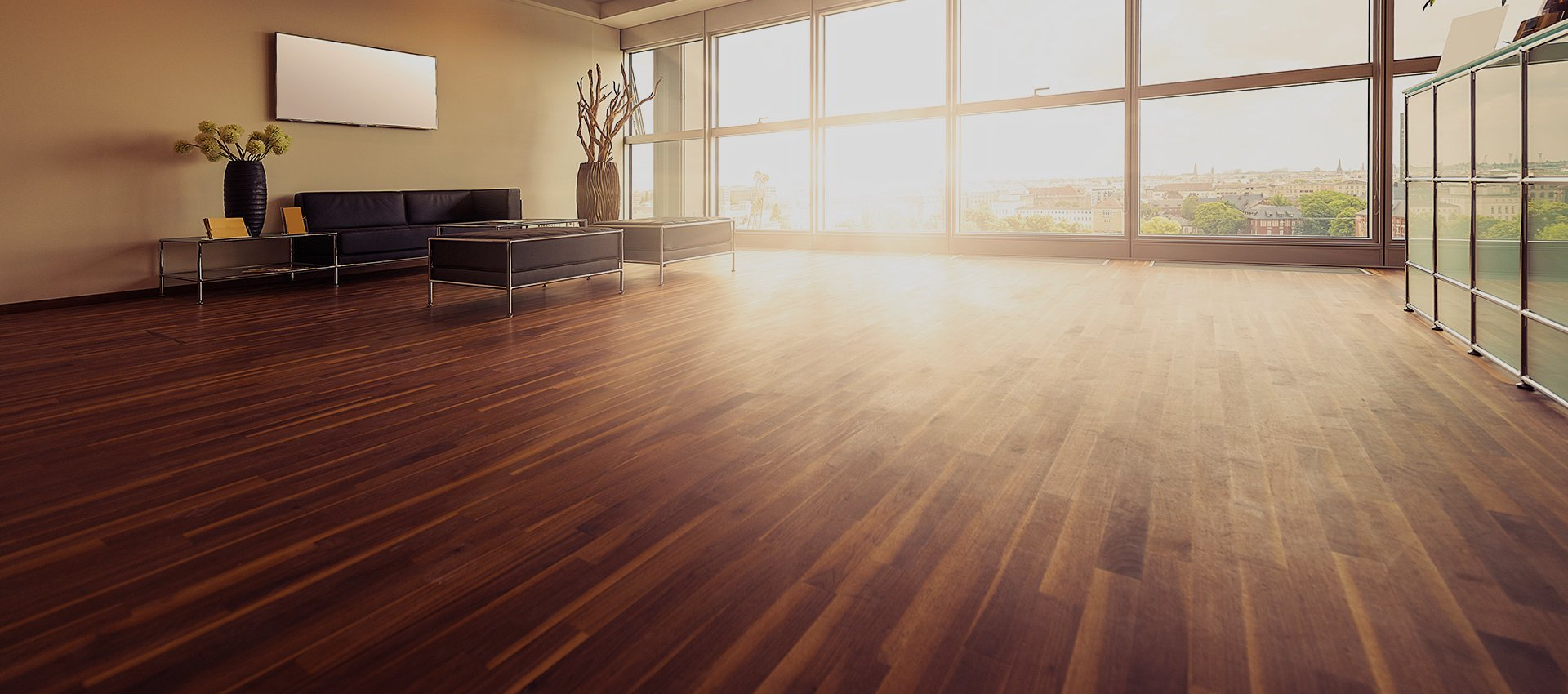 wooden flooring after installation