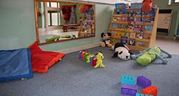 stanza dei giochi della scuola per l'infanzia