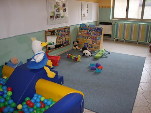 stanza dell'asilo