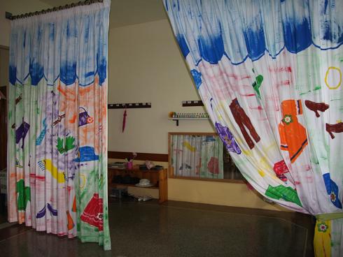 aula dei travestimenti all'interno della scuola dell'infanzia