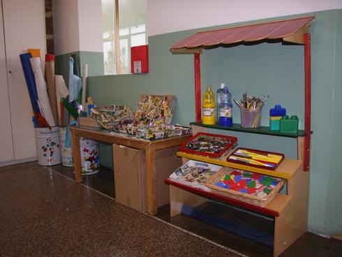 giochi per bambini in stanza d'asilo