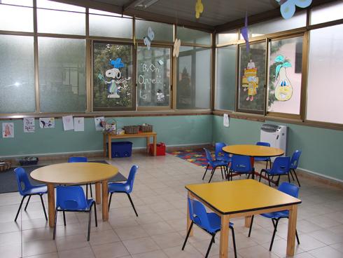 sala da pranzo dell'asilo