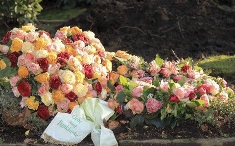 Corona di fiori per lutto