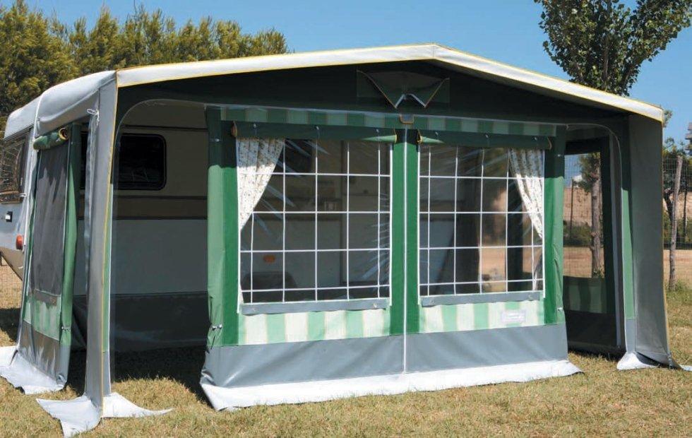 Molise Caravan, veranda Smeralda