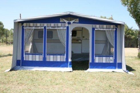 Molise Caravan, veranda Venere