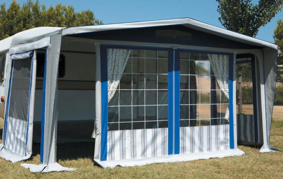 Molise Caravan, veranda Paradiso