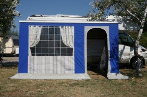 Molise Caravan, veranda