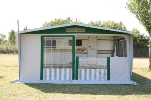 Molise Caravan, veranda Oasi