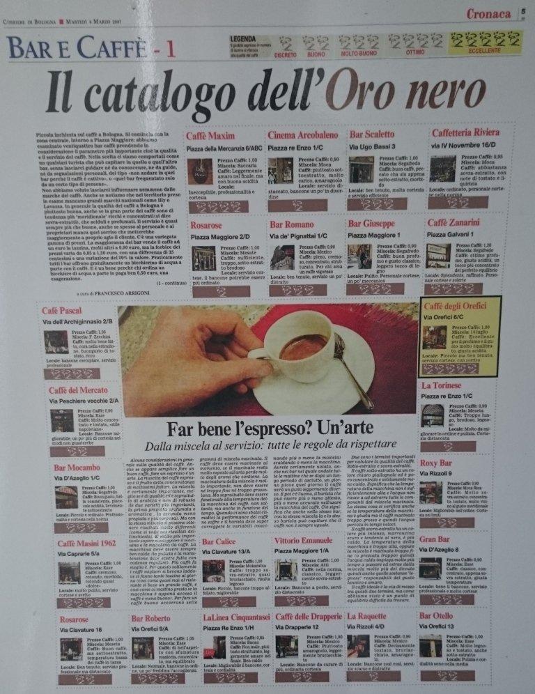 caffè14luglio, giornale