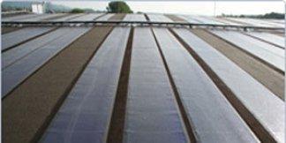 sistema impermeabile con fotovoltaico