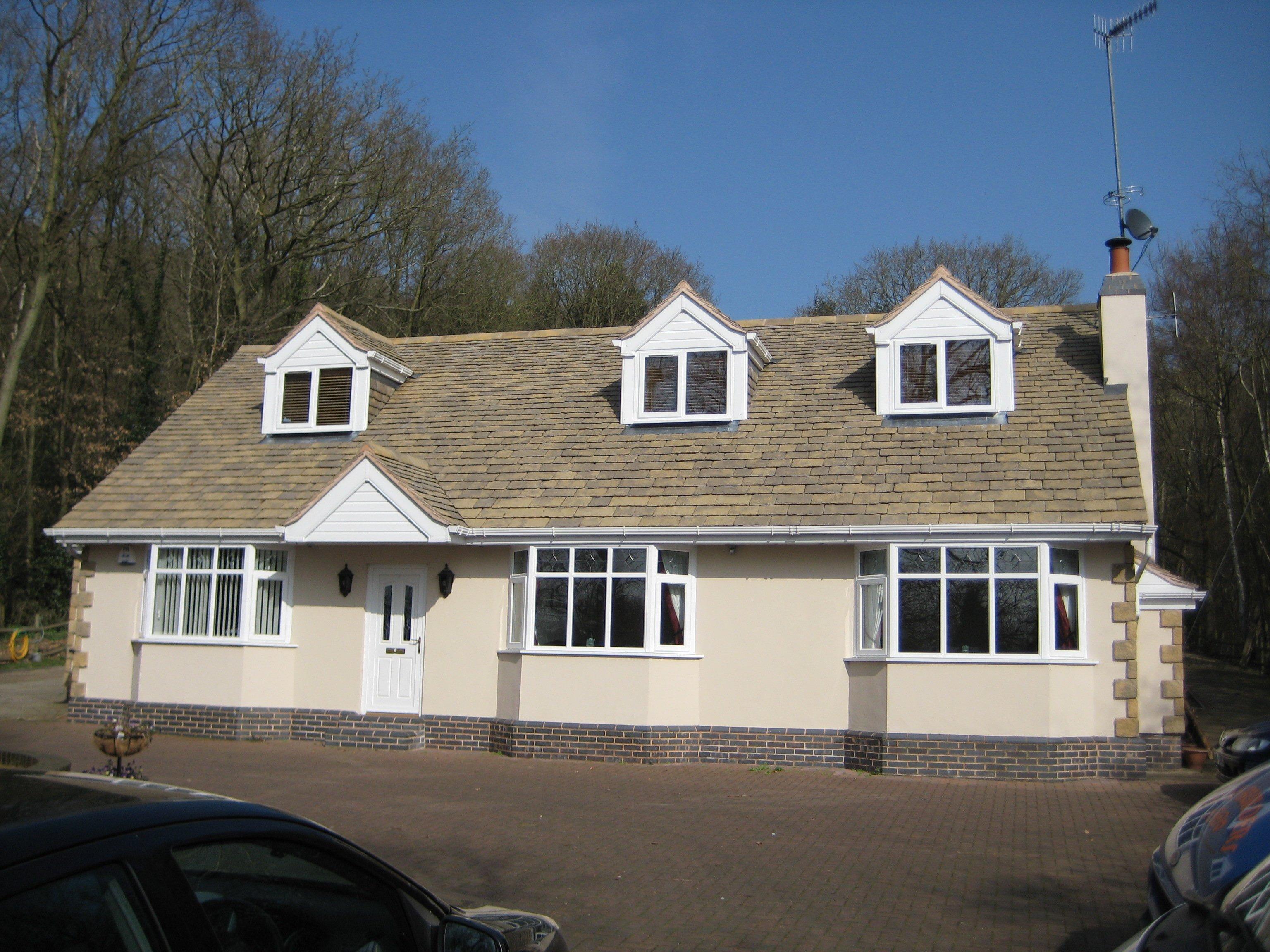 Bungalow extension and loft conversion