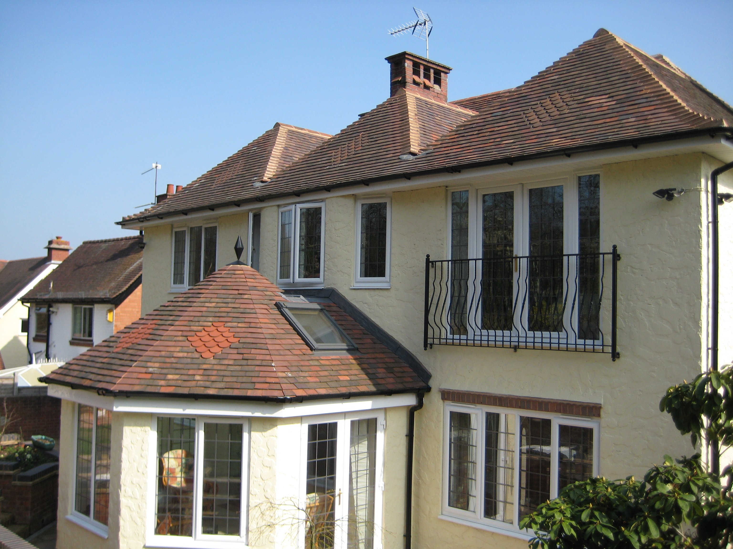 two-storey rear extension