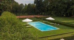 campo da tennis, solarium
